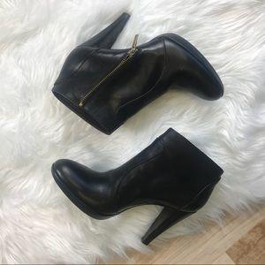 Max Mara black ankle boots